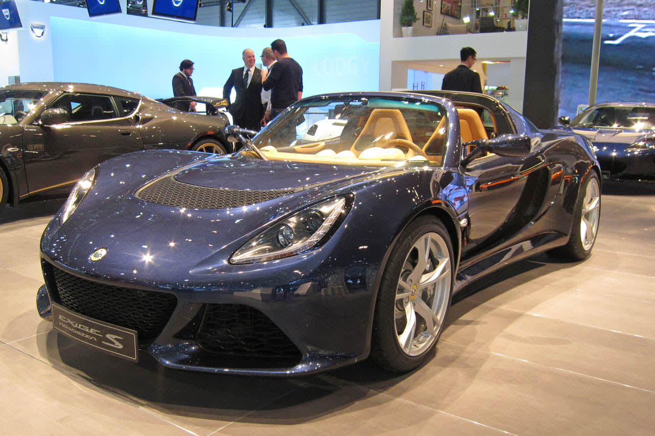 Lotus Exige S Roadster Geneva 2012 Photos